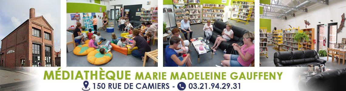 Médiathèque Marie Madeleine Gauffeny